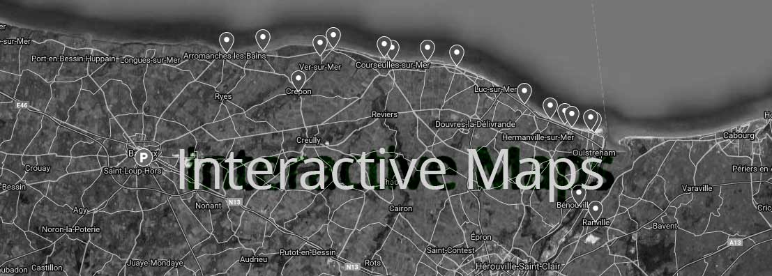 Carte interractive google maps Overlordtour nb