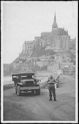liberation mont saint michel 1944