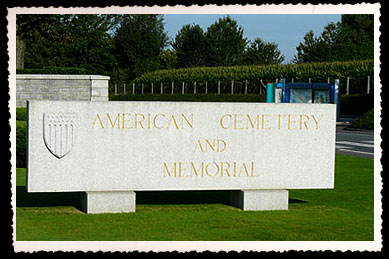 american cemetery and memorial ww2